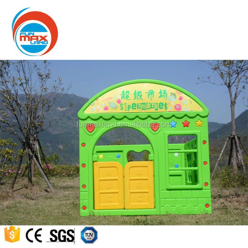 Pretend play preschool plastic baby toys outdoor kids play house from Beijing Funmax Sports