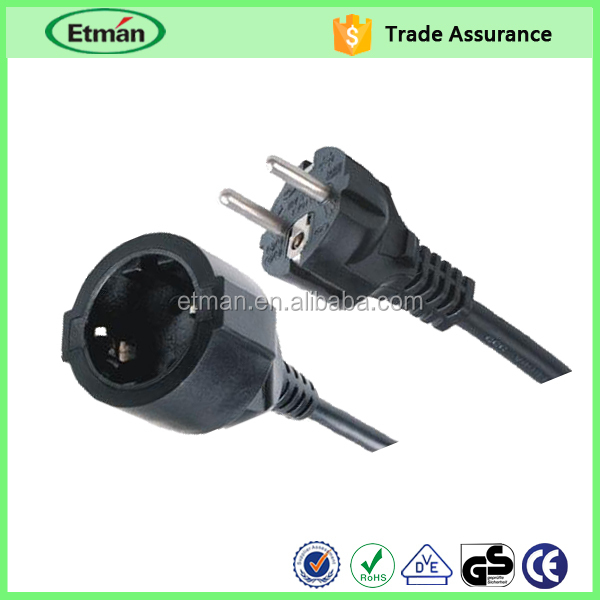Lamp 12v dc power cord china, laptop power cord extension china, european flat electrical power extension cord