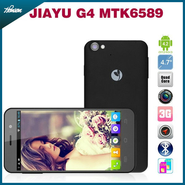 In stock JIAYU G4 MTK6589 Quad Core 1.2G 1GRAM/4GROM 3G Android 4.1 4.7' Unlocked Phone