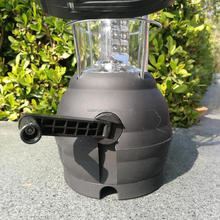 Hand Crank Dynamo Solar 36 LED camping Lantern Outdoor Camping Work Light