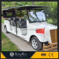 China Luxury Cheaper Price 11 Seats Electric Tourist Car