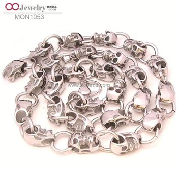 Plastic Stainless Steel Necklace Made In China