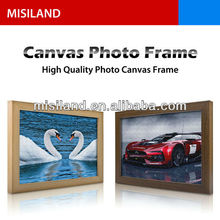 DIY canvas photo frame, do it by hand