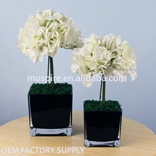 China manufacture excellent performance glass flower planter base