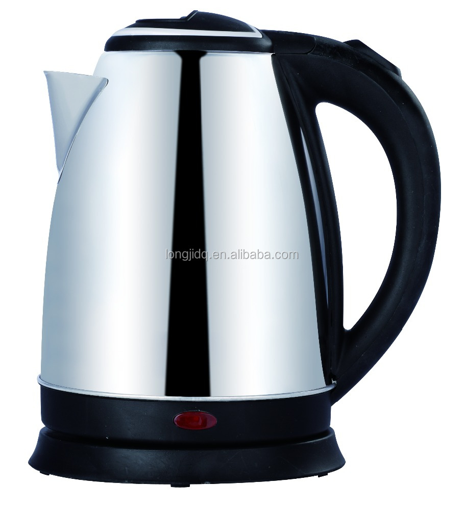 Top quality stainless steel electric kettle LJ-15B promotion item kettle