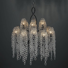 Italy lighting baga style crystal chandelier hanging lamp