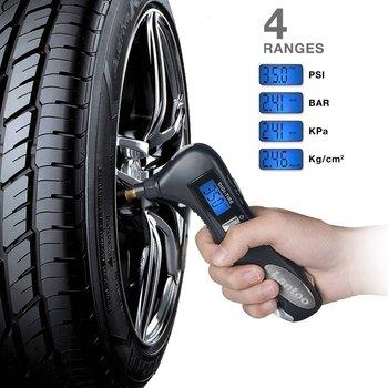 Smart Digital Tire Pressure Gauge 5In1 Multifunction Tire Pressure