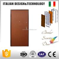 Competitive price melamine European style steel main door design