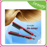 digital lcd hair straightener ,H0T016 lcd display hair iron