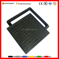 composite SMC square waterproof manhole cover for 4x4 trucks heavy duty