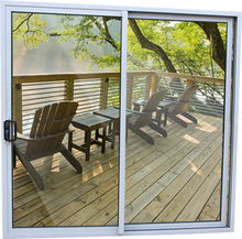 aluminum outside sliding glass doors for balcony