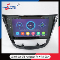 Android 4.4.4 X Trail GPS Navigation With Car Multimedia
