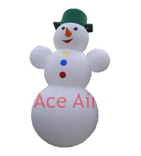 durable and reuse outdoor inflatable yard Christmas decoration inflatable Christmas snowman