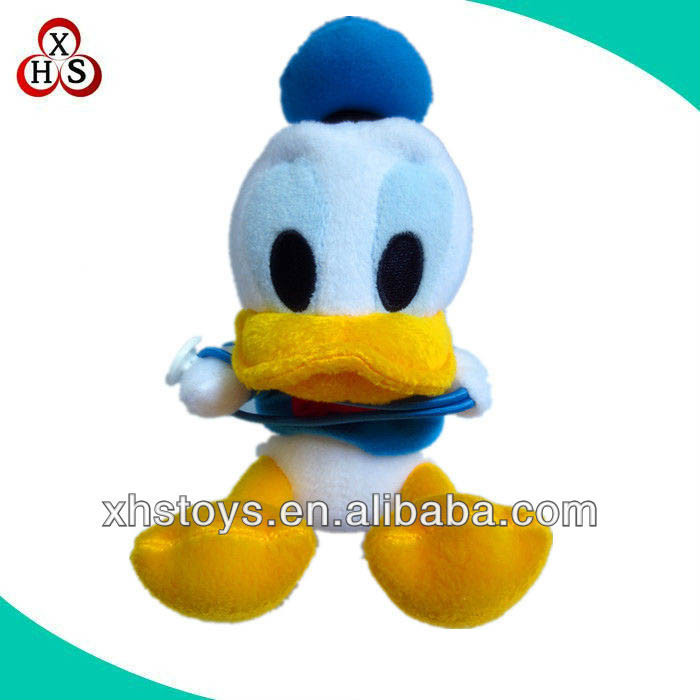 make your own plush blue duck toy stuffed plush soft duck wholesale