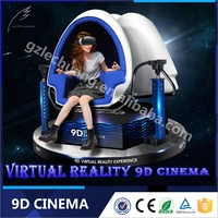 360 Degree Pendulum Ride 9D Virtual Reality Cinema Theme Park Equipment For Sale