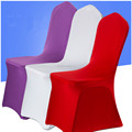 Universal elastic/spandex chair cover for banquet, factory direct.