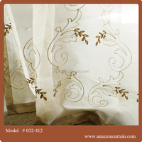Luxury Europe Style Drapery&Curtain With Permanent Flame Retardant Performance