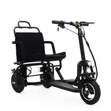Folding electric scooter 48v 350W for adult elderly with top quality and cheap price