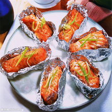 baking cooking barbecue paper/food aluminium foil roll