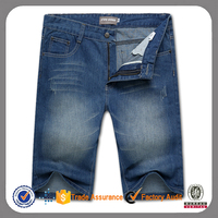 Mens Casual High Quality Cotton Washed Jeans Denim Shorts