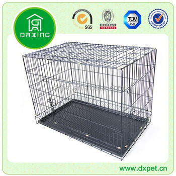 acrylic dog house shaped donation box DXW003
