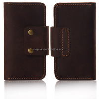 Low MOQ High Qualtiy for Iphone 5 Genuine Leather Case