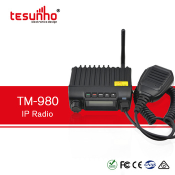 24V car mobile radio with sim card TM980 Tesunho