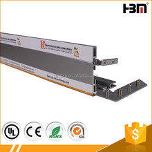 50mm and 65mm dual-use single side frameless SEG aluminum profile for brand store signage
