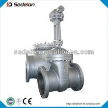 Widely Used API6D Carbon Steel Gate Valve Dimensions