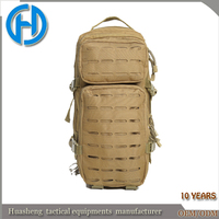 Men's Tactical Tan Assault Backpack Travel Bag