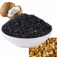25kg 1050 iodines 8-12mesh Coconut Shell Based carbon active for gold