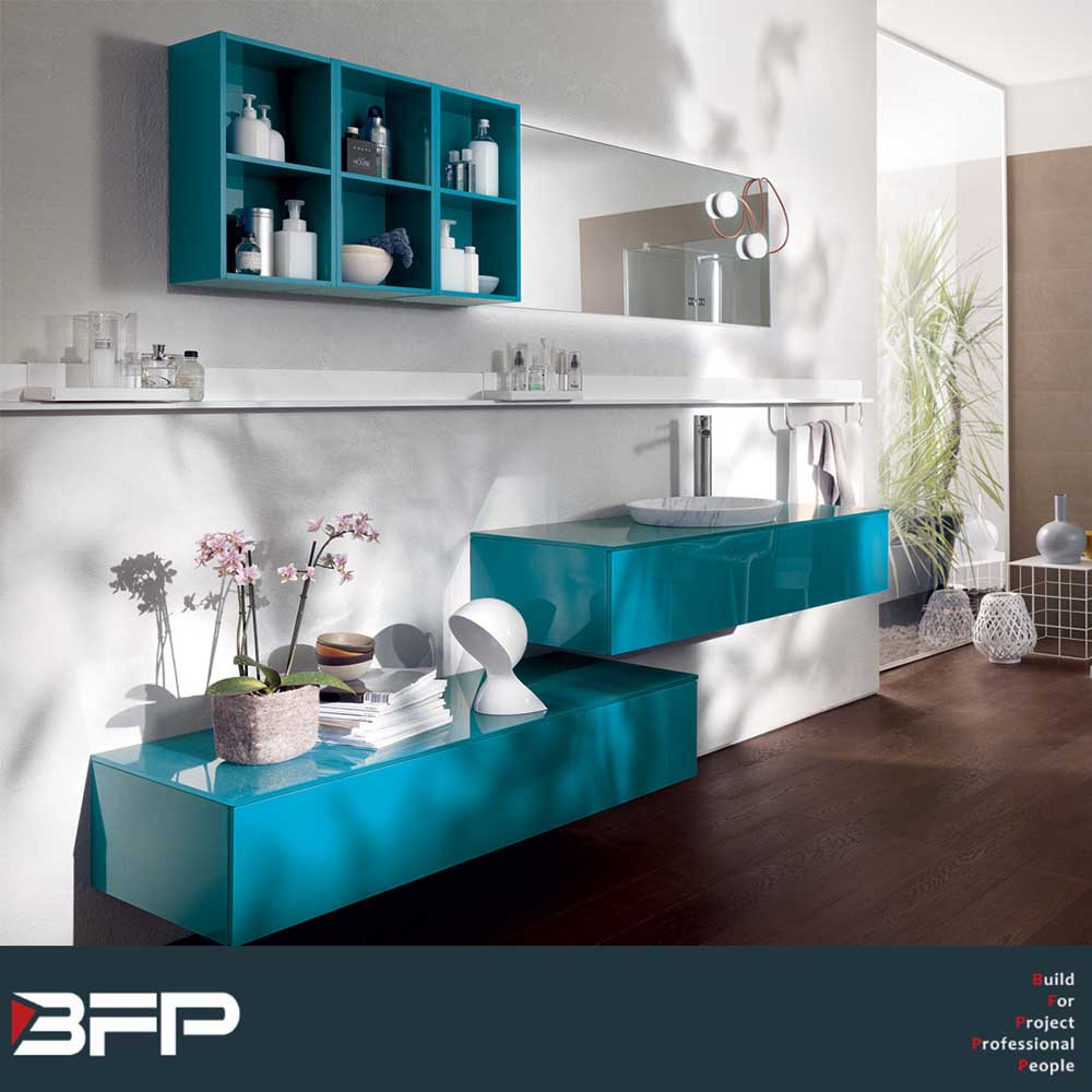 Modern High Brightness Furniture Bathroom Vanities Cabinet