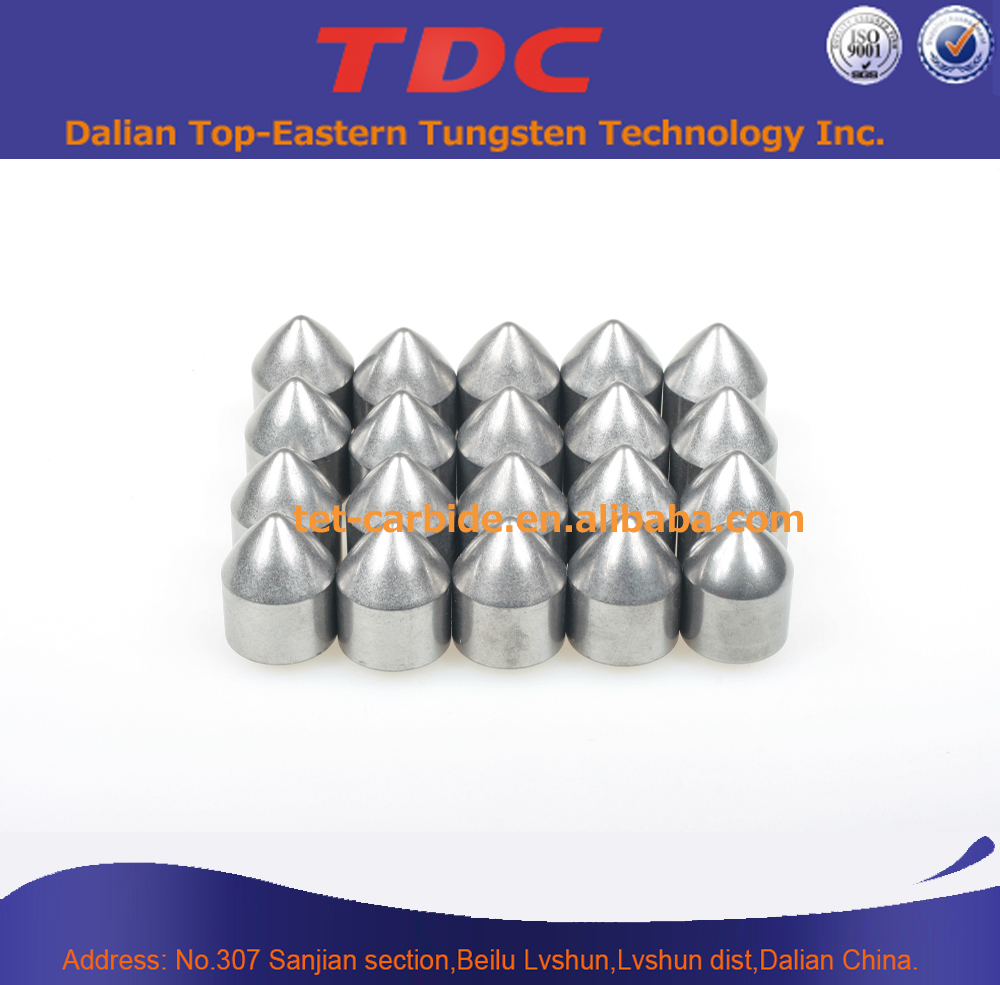 HIP Sintered with Good Wear Resistance Tungsten Carbide Bullet Teeth