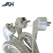 VDE Approved H03RT-H Power Cord Textile Power Cord