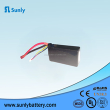Rechargeable wholesale 753476 40C 1500mah rc car battery 11.1V