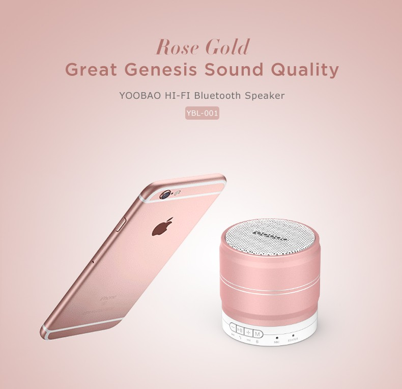 New high quality wireless bluetooth super mini portable speaker