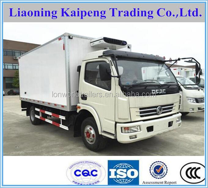 DONGFENG 4x2 refrigeration truck for vegetables/fruits/ice cream/sea foods/meat