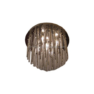 crystal hanging light ceiling light with crystal decoration beads, BN ceiling cap