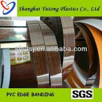 1mm high gloss pvc edge banding /edge tape for kitchen furniture