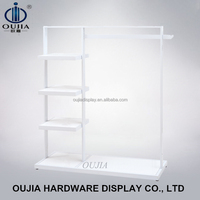 portable store display shelf/garment hanging stand/garment hanging system