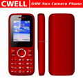 Unlocked 1.77 Inch Screen Dual SIM Feature Non Camera Phone telefonos celulares