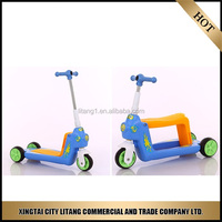 Three wheel popular classic car ride on car cool children scooter tricycle for kids