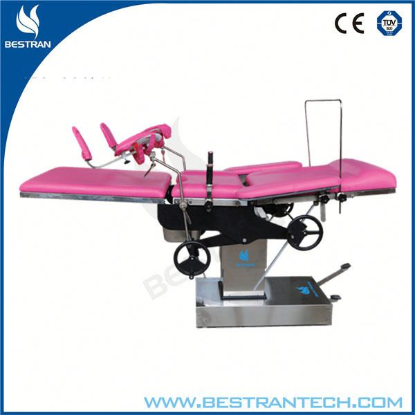 China BT-OE014 Hospital cheap gynecology operating table, electric gynecology exam chair with remote control