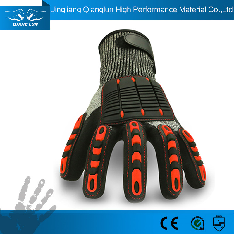 Oil And Impact Resistant Safety And Industrial Gloves