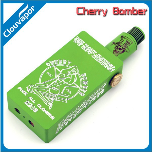Hot selling mechanical box mod fantastic design/ cherry bomber mechanical box mod