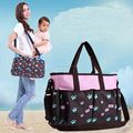 2017 Eco-Friendly Material Nappy Mummy Bag Maternity Handbag baby Diaper BagsTote Organizer bag