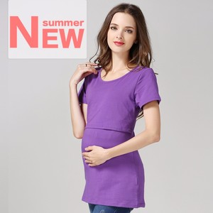 wholesale maternity clothing pregnant women simple elegant blouses