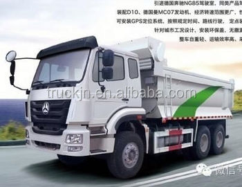 cost saving and comfortable new hohan 6*4 dump truck