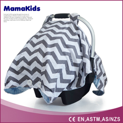 Infant canopy car seat cover,New design nursing strap baby car seat cover