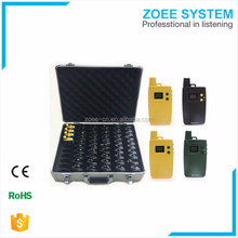 Small Portable Wireless Audio bus tour guide system for bus travel